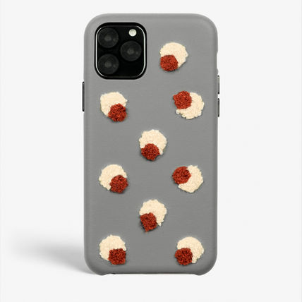 Faux Fur iPhone X iPhone XS iPhone 11 Pro Smart Phone Cases