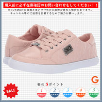 G BY GUESS Round Toe Lace-up Casual Style Low-Top Sneakers