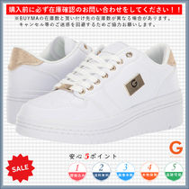 G BY GUESS Platform Round Toe Lace-up Casual Style