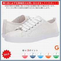 G BY GUESS Monogram Round Toe Lace-up Casual Style Low-Top Sneakers
