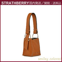STRATHBERRY Casual Style Leather Crossbody Shoulder Bags