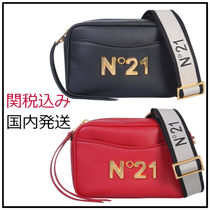 N21 numero ventuno Casual Style Plain Elegant Style Shoulder Bags