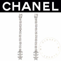 CHANEL ICON Costume Jewelry Star Casual Style Street Style Handmade