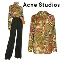 Acne Flower Patterns Shirts & Blouses