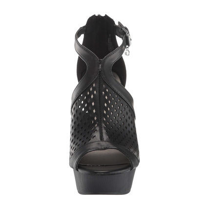 G BY GUESS Open Toe Platform Casual Style Platform & Wedge Sandals