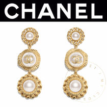 CHANEL ICON Costume Jewelry Casual Style Street Style Handmade