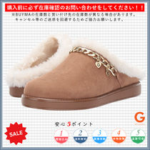 G BY GUESS Rubber Sole Casual Style Faux Fur Sandals Sandal