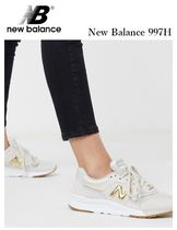New Balance 997 Rubber Sole Casual Style Suede Street Style Plain