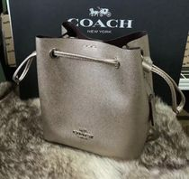Coach Casual Style Plain Leather Party Style Purses Office Style