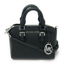 Michael Kors Casual Style 2WAY Plain Leather Elegant Style Crossbody