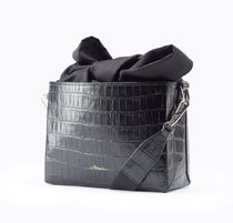 3.1 Phillip Lim Plain Leather Shoulder Bags