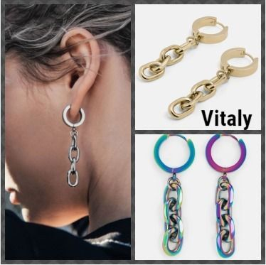 Casual Style Unisex Street Style Party Style Earrings
