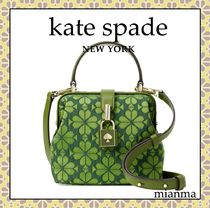 kate spade new york Flower Patterns Casual Style 2WAY Party Style Elegant Style