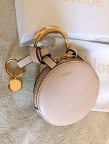 Chloe ALPHABET Plain Leather Coin Cases