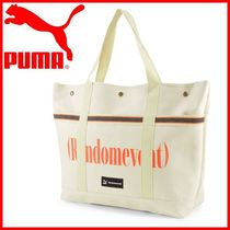 PUMA Casual Style Unisex Street Style 2WAY Totes