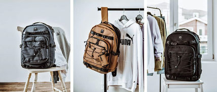 Casual Style Unisex Street Style A4 Satchels