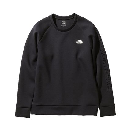 THE NORTH FACE Sweatshirts Unisex Sweat Plain Logo Outdoor Sweatshirts 2