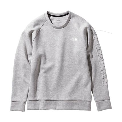 THE NORTH FACE Sweatshirts Unisex Sweat Plain Logo Outdoor Sweatshirts 4
