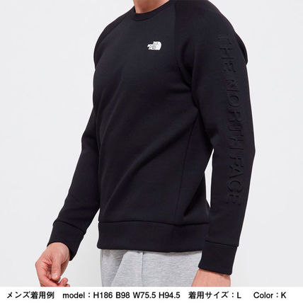 THE NORTH FACE Sweatshirts Unisex Sweat Plain Logo Outdoor Sweatshirts 8