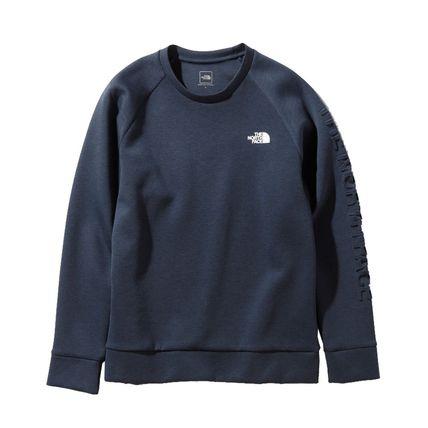 THE NORTH FACE Sweatshirts Unisex Sweat Plain Logo Outdoor Sweatshirts 3