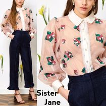 Sister Jane Long Sleeves With Jewels Shirts & Blouses