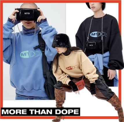 Unisex Street Style Long Sleeves Cotton