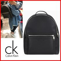 Calvin Klein Casual Style Street Style Satchels
