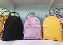 kate spade new york CAMERON STREET Casual Style Saffiano 3WAY Plain Leather Crossbody Backpacks