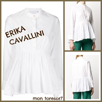 Casual Style Office Style Elegant Style Shirts & Blouses
