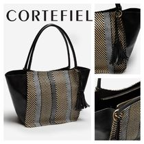 CORTEFIEL Office Style Elegant Style Bags