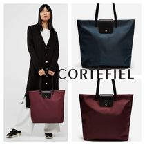 CORTEFIEL Casual Style Nylon Plain Office Style Bags