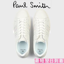 Paul Smith Stripes Street Style Leather Sneakers