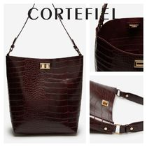 CORTEFIEL Other Animal Patterns Office Style Elegant Style Bold Bags