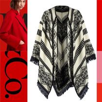 Max&Co. Blended Fabrics Ponchos & Capes
