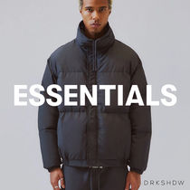 FEAR OF GOD ESSENTIALS Street Style Collaboration Oversized Down Jackets