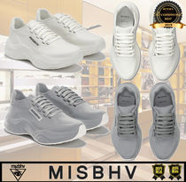 MISBHV Casual Style Unisex Street Style Plain Logo Low-Top Sneakers
