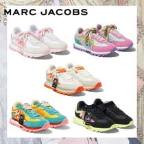 MARC JACOBS Round Toe Casual Style Street Style Low-Top Sneakers