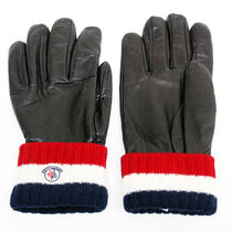 MONCLER Leather Leather & Faux Leather Gloves