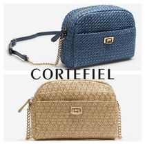 CORTEFIEL Casual Style Elegant Style Shoulder Bags