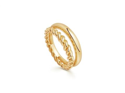 Costume Jewelry Casual Style Unisex 18K Gold Rings