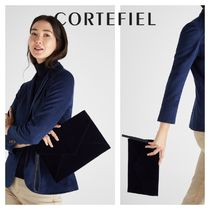 CORTEFIEL Casual Style Plain Elegant Style Clutches