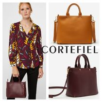 CORTEFIEL Casual Style 2WAY Plain Elegant Style Bags