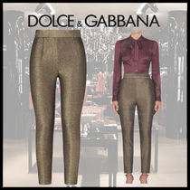 Dolce & Gabbana Casual Style Nylon Plain Cotton Long Party Style