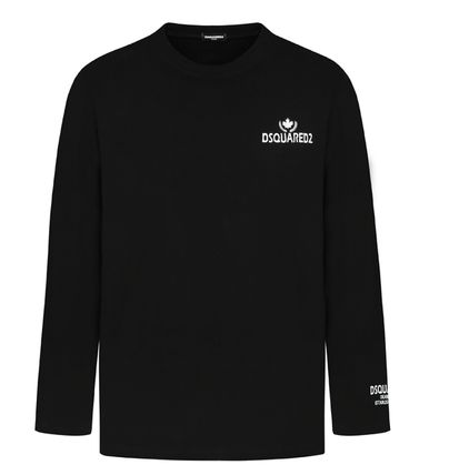 D SQUARED2 Long Sleeve Unisex Street Style Long Sleeves Cotton Long Sleeve T-shirt 12