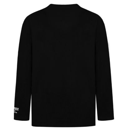 D SQUARED2 Long Sleeve Unisex Street Style Long Sleeves Cotton Long Sleeve T-shirt 13