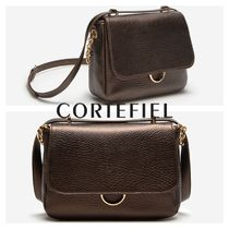 CORTEFIEL Casual Style 2WAY Chain Elegant Style Shoulder Bags