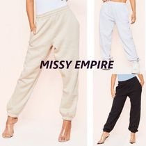 MISSY EMPIRE Casual Style Sweat Street Style Plain Long Oversized