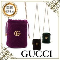 GUCCI GG Marmont Casual Style 2WAY Elegant Style Crossbody Shoulder Bags