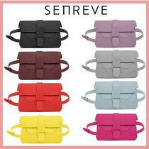 senreve Casual Style 3WAY Plain Leather Party Style Office Style