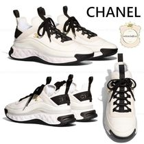 CHANEL Casual Style Low-Top Sneakers